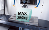 Max. loading weight : 250kg